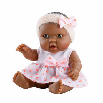 00149 Кукла-пупс Эбэ, 22 см, мулатка